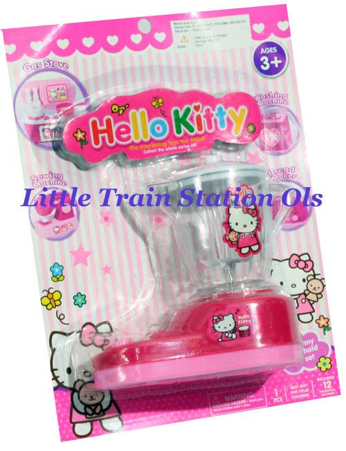 Kitty In A Blender ~ Mainan alat dapur olslittletrainstation